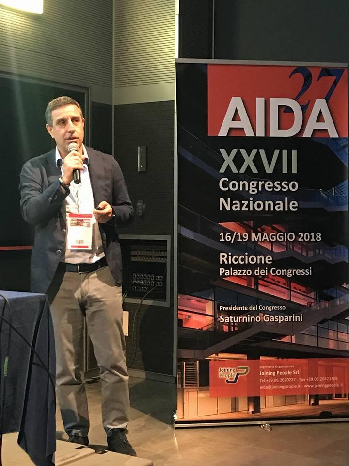 domenico piccolo 27 congresso nazionale AIDA riccione maggio 2018